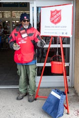 John Johnson really enjoys making people smile and laugh at his post in front of the Springettsbury Township Walmart. He has served as a bell ringer for 12 years.