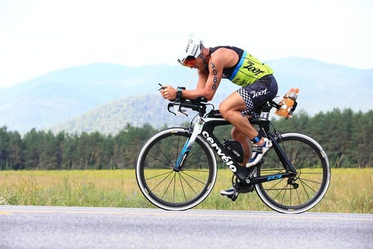 Dwayne Smith of Hanover has competed in triathlons across the country and he has qualified for the Ironman World Championship twice.