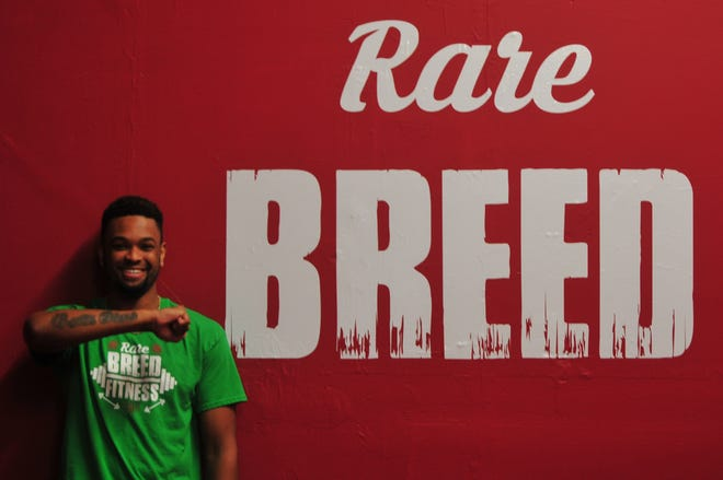 Auntonio Brown is a licensed Kangoo Jumps instructor and owner of Rare Breed Fitness in Richmond's Depot District.