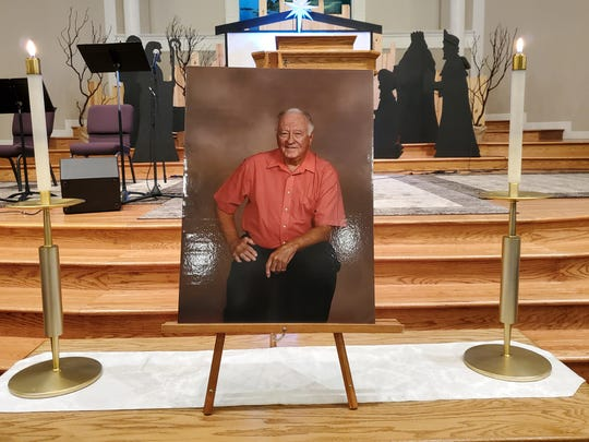 Picture of John Strohmayer whose services were held at CrossPointe Community Church in Redding on Dec. 14, 2019.