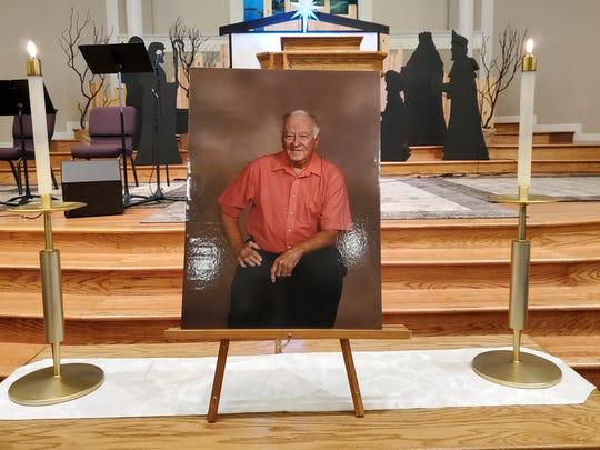A picture of John Strohmayer, whose memorial service was held at CrossPointe Community Church in Redding on Saturday, Dec. 14, 2019.