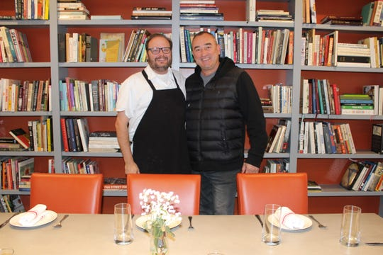 Chef David Bridges and Zoran Tomic, co-owners of Sauvage restaurant, located at 608 Absinthe Court in Shreveport.