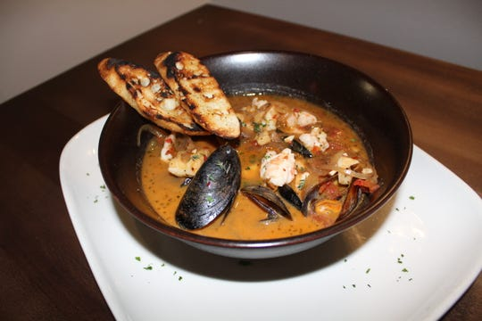 A seafood gumbo special at Sauvage restaurant in Shreveport.