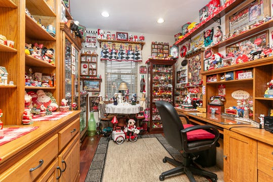 Donald's office is filled with commercially branded collectibles such as Coca-Cola, Betty Boop, Disney and McDonald's.