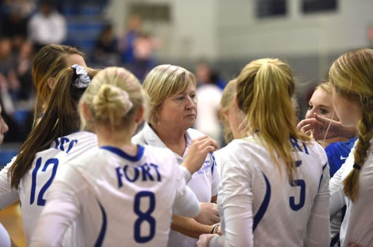 When Fort Defiance reached the state tournament this season it was a first for Sue Leonard as a coach at a public school.