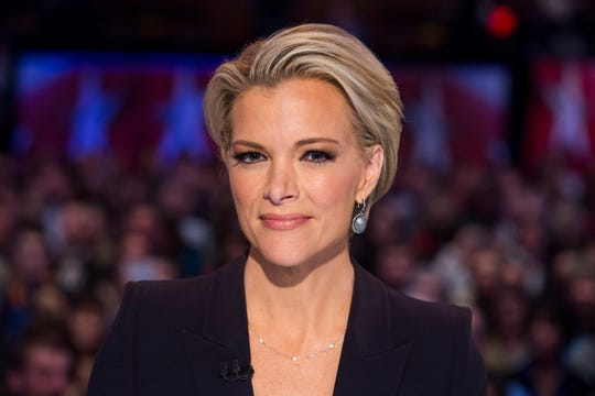 Megyn Kelly in January 2016 prior to moderating the Fox News Republican presidential debate.