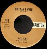 "Jack Scott's ""The Way I Walk"" 45"