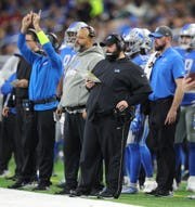Detroit Lions head coach Matt Patricia during action against the Tampa Bay Buccaneers, Sunday, Dec. 15, 2019 at Ford Field.