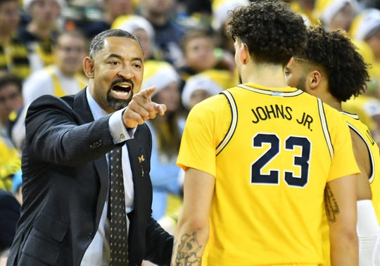After entering the season unranked, Michigan coach Juwan Howard's squad has been ranked in the top 15 for three consecutive weeks.