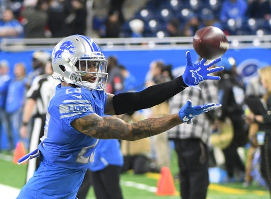 Lions cornerback Darius Slay is set to make $10 million next season.