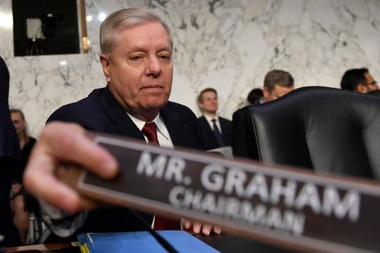 Senate Judiciary Committee Chairman Lindsey Graham, R-S.C.
