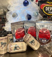 Find jerky, meat snacks, Indiana wine, condiments and more at Dewig's Meats in Haubstadt.