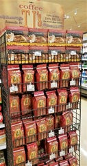 TJ's Roaster coffee is made on the west side and can be found at local Schnuck's groceries.