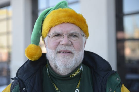 Craig Cluberton of Richmond, Va., attended 192 consecutive Green Bay Packers home games since 1996.