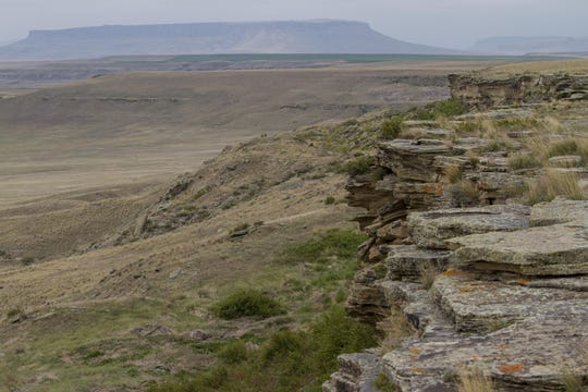$25,000 in LWCF money was a cornerstone grant for the acquisition of lands that became First Peoples Buffalo Jump State Park north of Ulm. The site contains one of the largest, most actively used buffalo jump sites in North America.