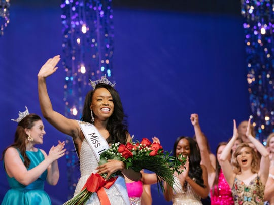 Tiarra Thomas won the Miss Indiana competition in June.