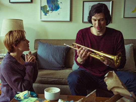 """""""Marriage Story,"""" starring Scarlett Johansson, left, and Adam Driver, was named the year's best film by the Indiana Film Journalists Association."""
