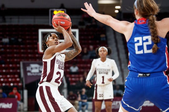 Mississippi State senior guard Jordan Danberry looks to get her team headed in the right direction after a two-game losing streak.