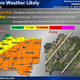 National Weather Service says severe weather likely Monday in Mississippi.
