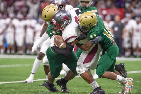 The Acadiana Wreckin Rams take on the Destrehan Wildcats in the State Div 5A Championship game. Saturday, Dec. 14, 2019.