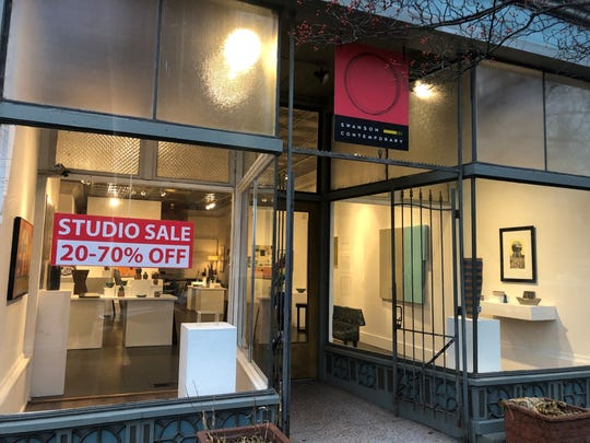 Chuck Swanson's long-standing art gallery in Louisville's NuLu neighborhood is closing
