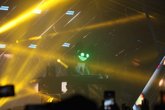 EDM superstar DeadMau5 performed at the Wisconsin Center in Milwaukee on Dec. 14, 2019.