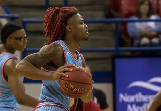 LA Tech defeated University of Louisiana at Lafayette 77-59 at the Thomas Assembly Center in Ruston, La. on Dec. 14.