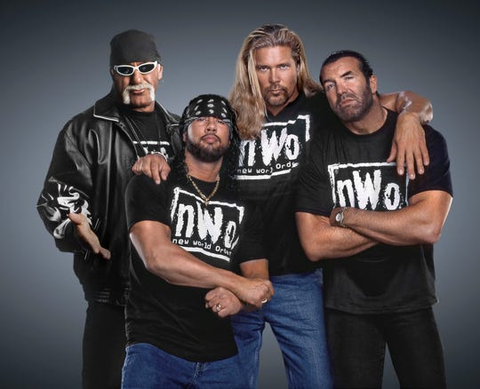 The NWO will be inducted into the WWE Hall of Fame.