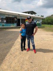 Shane Tarleton with Luis