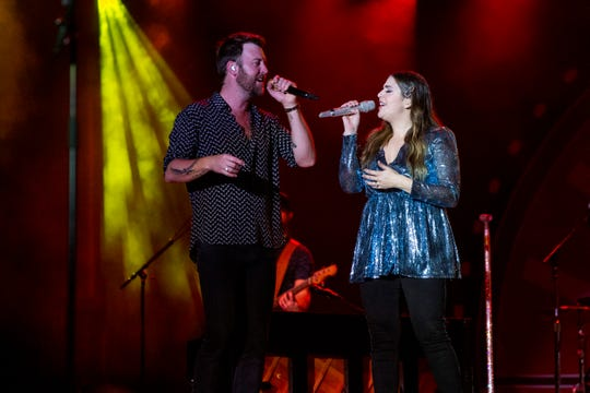 Lady Antebellum performs at the live fest in Naples, Florida on Dec. 14.