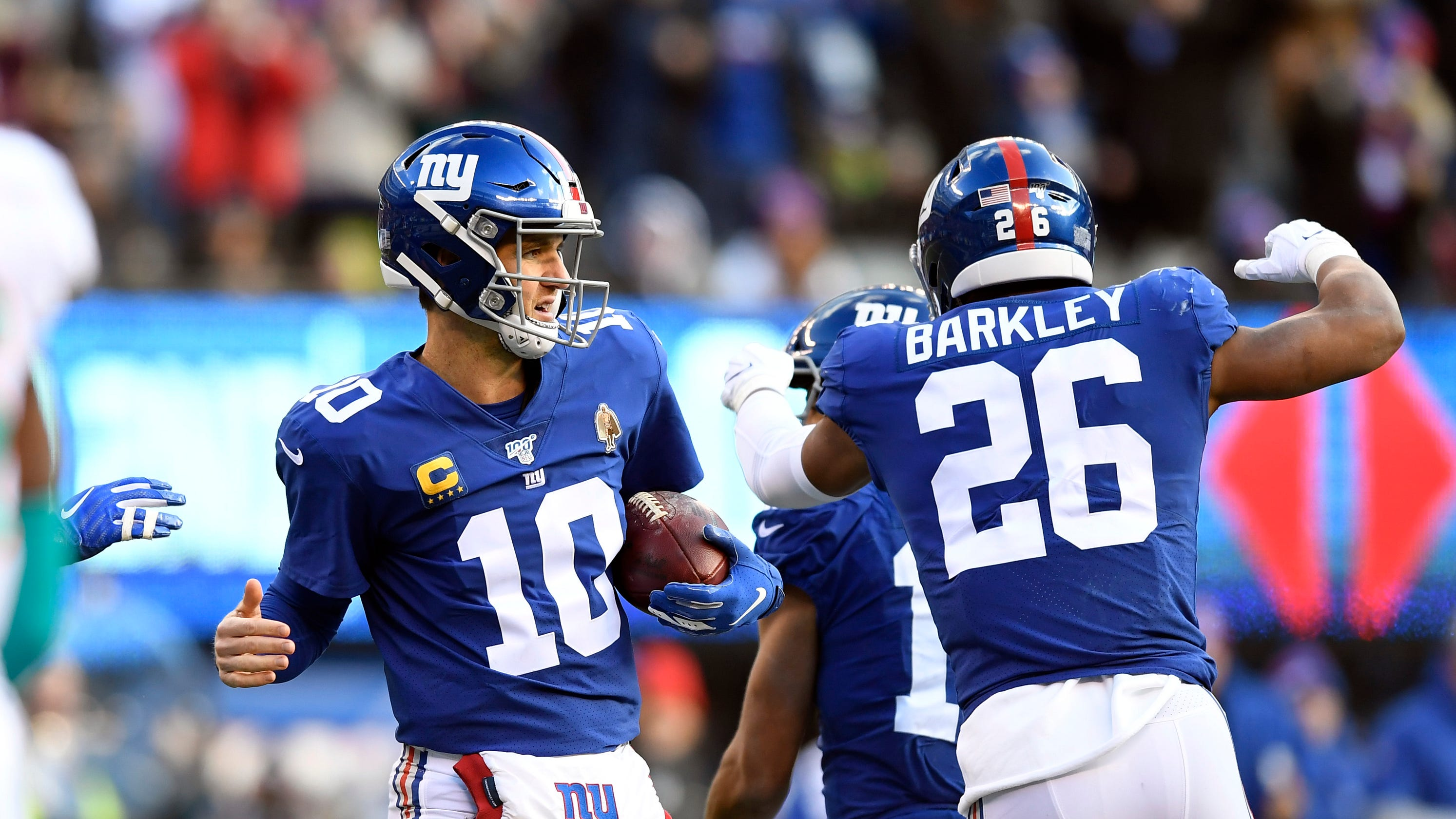 Ny Giants Defeat Miami Dolphins Snap Record Losing Streak