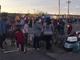 A petting zoo attracted many foster kids and their families during the annual Christmas party hosted by Hope & A Future.