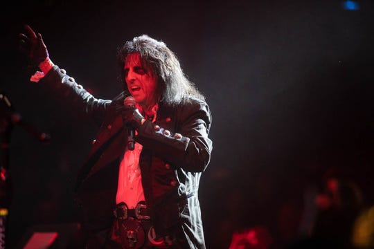 Alice Cooper performs at Christmas Pudding on Saturday, Dec. 14, at the Celebrity Theatre.