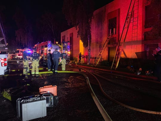 A 4-year-old girl died after an apartment at 2323 W. Dunlap Ave. caught fire on Dec. 15, 2019.