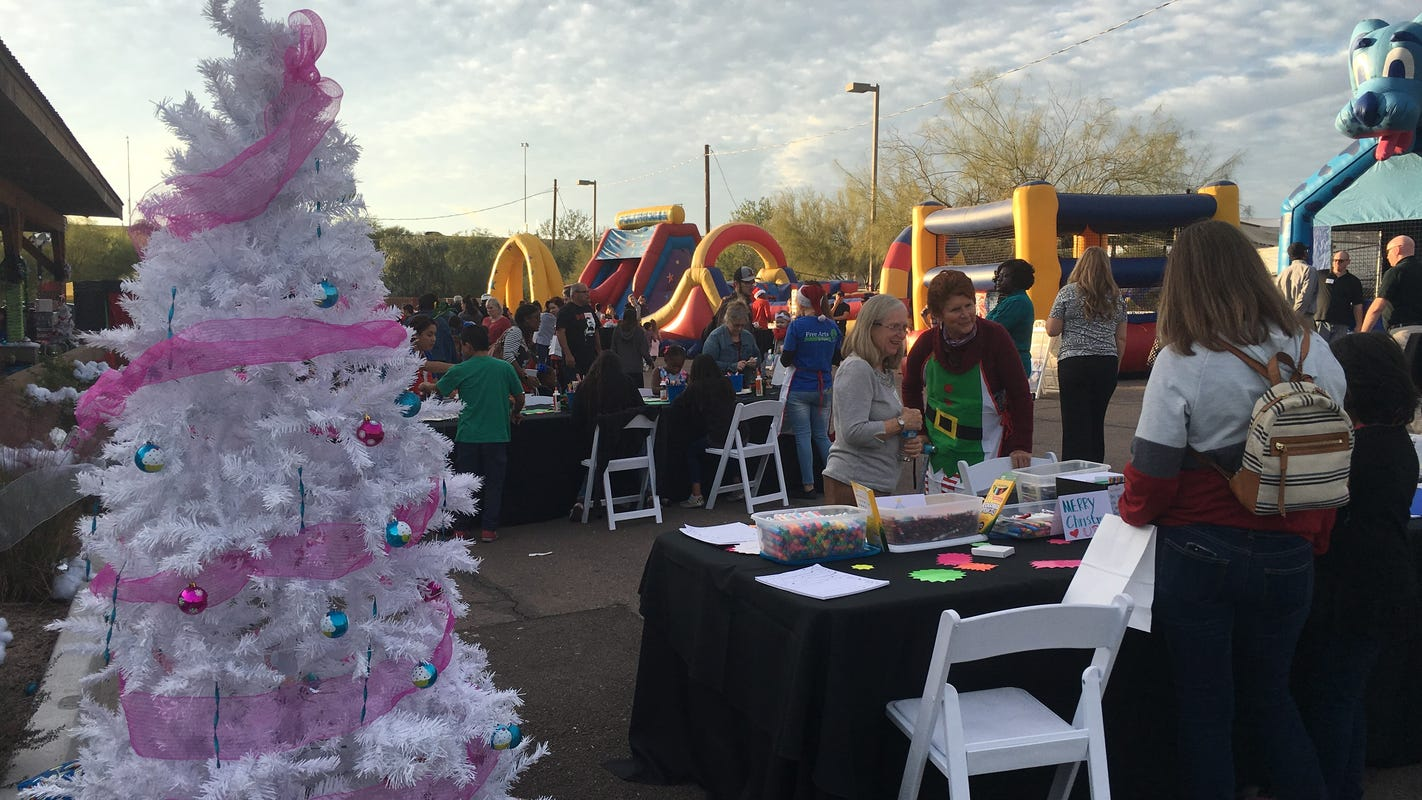 Nonprofit brings holiday cheer to foster kids and families with 15th annual Christmas party