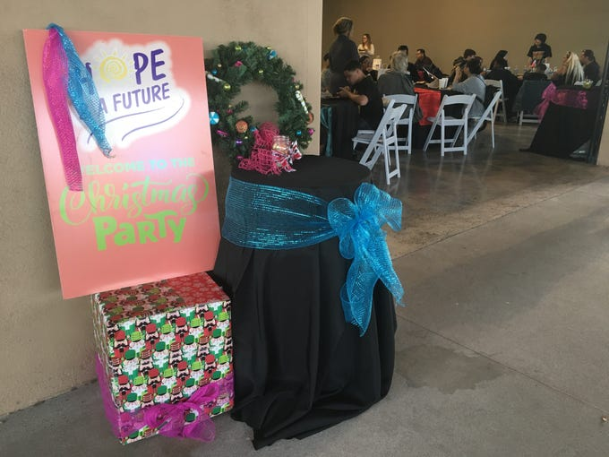 The 15th annual Christmas party hosted by Hope & A Future was made possible by the 200 volunteers who were there starting at 8 a.m.