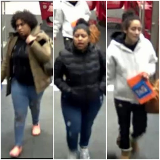 West Manchester Township Police are looking for these three suspects in connection with a recent theft at the Target in the township.