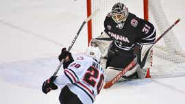 Omaha drops St. Cloud State in opening seconds of overtime
