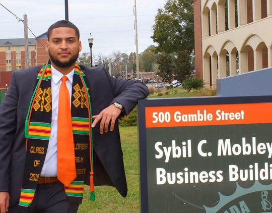 FAMU offensive lineman Zach Saffold earned a bachelor's degree in business administration from the School of Business and Industry on Dec. 13, 2019. He posted the highest GPA within the department. His overall GPA was a 3.96 GPA for his four years at FAMU.