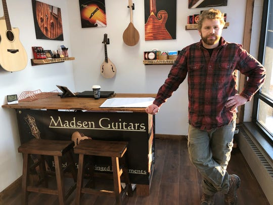 Andrew Madsen has opened Madsen Guitars in Neenah.