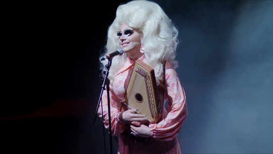 "Trixie Mattel in a scene from the documentary ""Trixie Mattel: Moving Parts,"" directed by Nick Zeig-Owens."