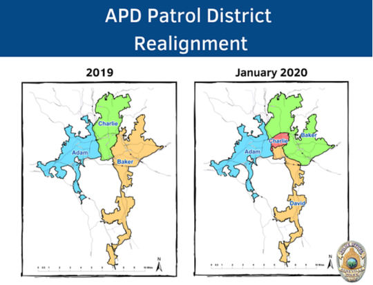 APD Patrol District Realignment