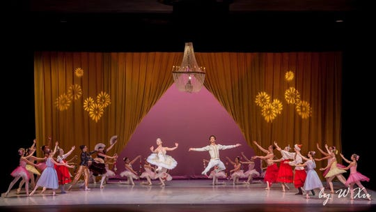 """TheRafael Grigorian Ballet Theatre's production of """"The Russian Nutcracker"""" will return Sunday afternoon."""