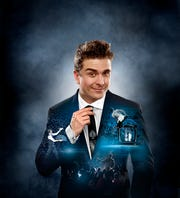 "Adam Trent brings his ""Holiday Magic"" show to the Suquamish Clearwater Casino Resort Dec. 21."