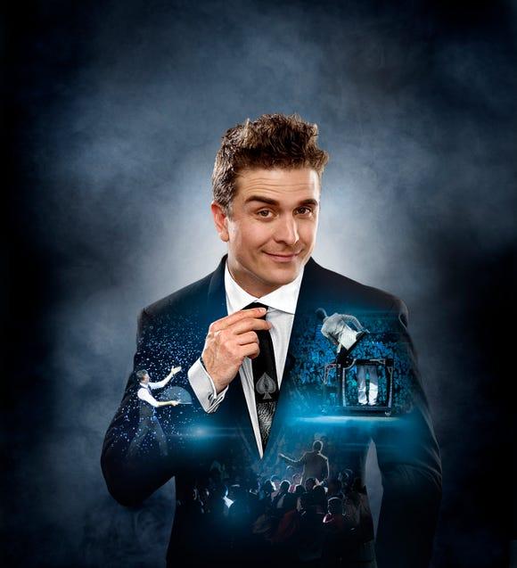 "Adam Trent brings his ""Holiday Magic"" show to the Suquamish Clearwater Casino Resort Dec. 21."