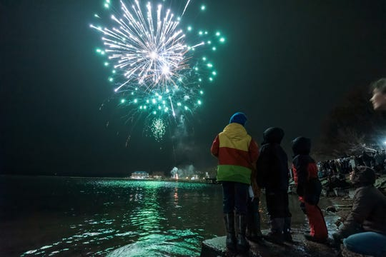 Fireworks are scheduled for 8 p.m. New Year's Eve as part of the Highlight celebration in Burlington.