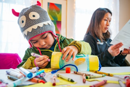 Various activities for children will be offered New Year's Eve during the Highlight festival at venues throughout Burlington.