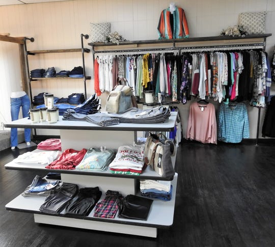 Mint Ivy Boutique sells name brand clothes and other unique items for women.