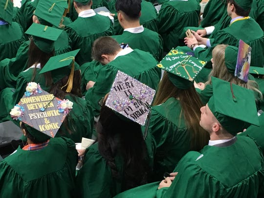 College graduates often shop online for ways to refinance student loans. But the Federal Trade Commission said LendEDU led consumers to believe the website offered objective product information when lenders paid for placement. File photo taken at Michigan State University's Fall 2019 Commencement at the Breslin Center on Dec. 14.
