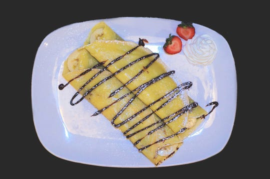Crepes at Essen on Main in Royal Oak